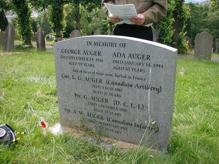 Profile picture for George Auger