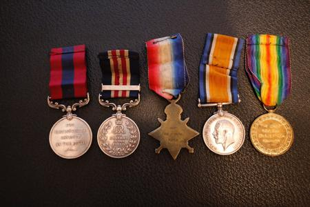 WW1 medals awarded to Marshall Smith