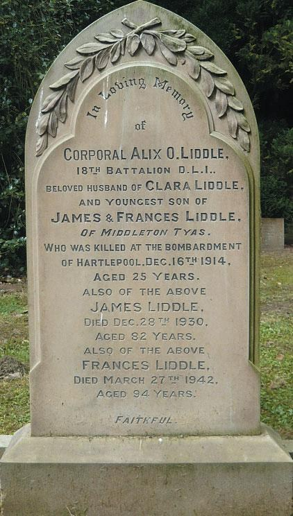 Headstone For A O Liddle