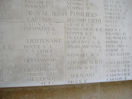Thiepval Memorial - G Cather