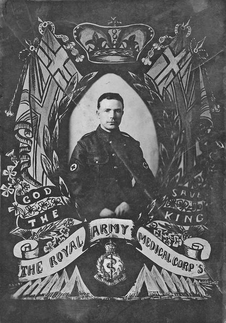Herbert Henry Bradshaw RAMC at Aldershot
