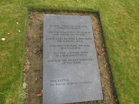 Tom Kettle remembered at Mesen