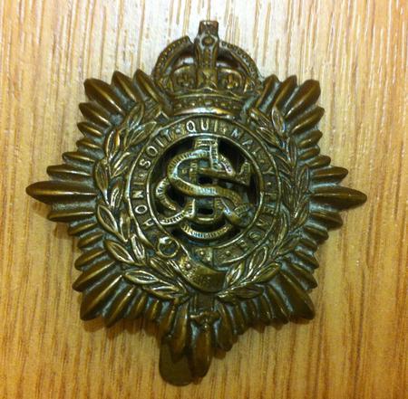 Army Service Corp cap badge