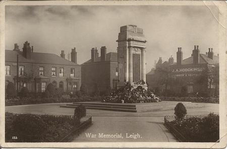 Leigh War Memorial.
