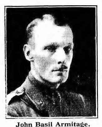 Capt John Basil ARMITAGE