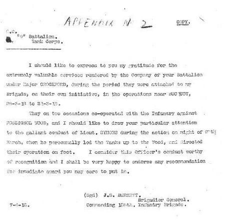 Gallant conduct letter