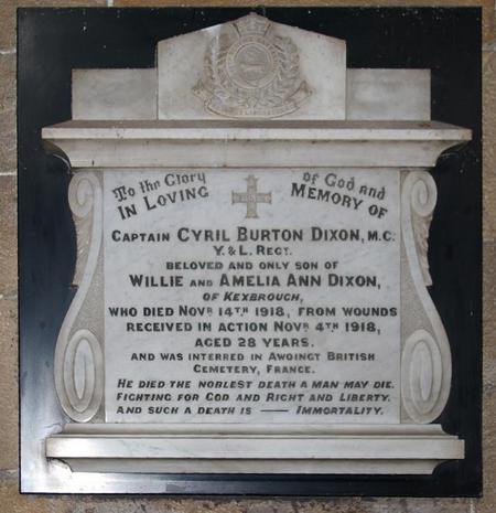 Profile picture for Cyril Burton Dixon