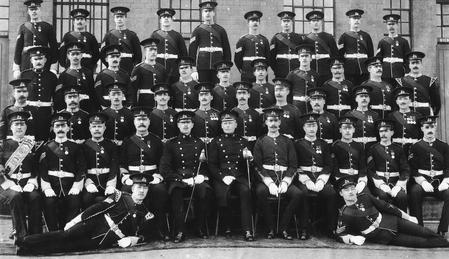 W.O's and Sergeants 1st Bn W.Y.R.