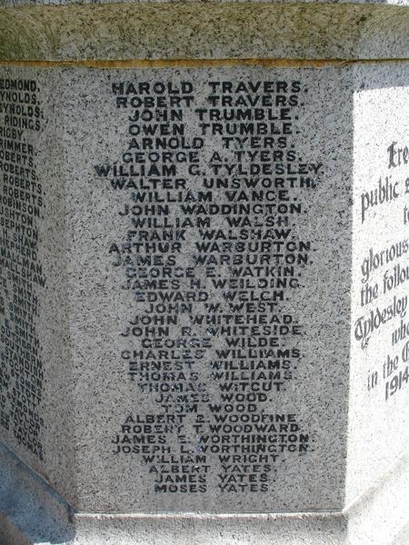 Tyldesley War Memorial