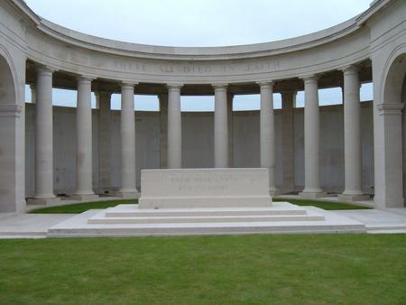 Picture of the Cambrai Memorial, Louverval, France