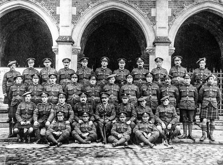 Infantry School at Auxi le Chateau, France