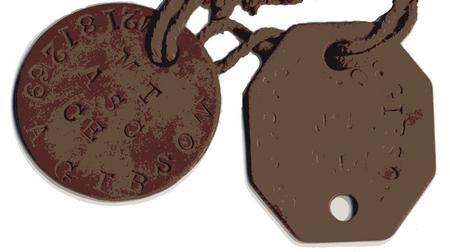 Identity Disc for Abraham Gibson