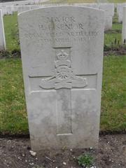 Headstone at Etaples Military Cemetery