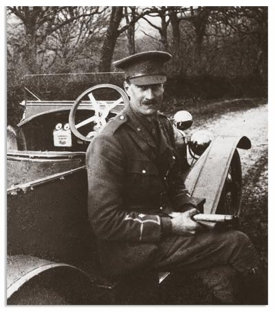 Alan Lloyd in uniform