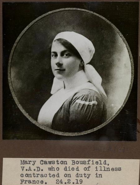 Profile picture for Mary Cawston Bousfield