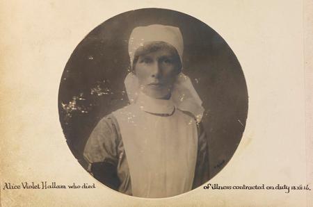 Profile picture for Alice Violet Hallam