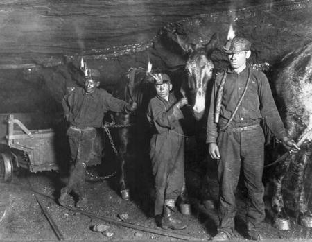 Coal Miners at work