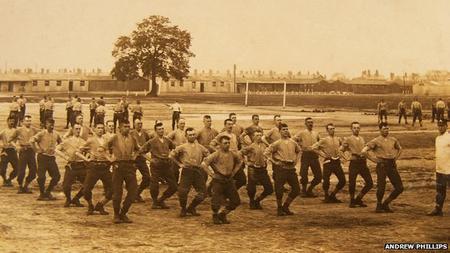 Colchester Barracks 1914
