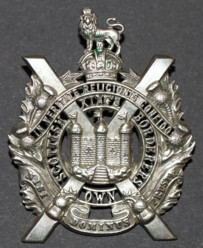 Cap badge of the King's Own Scottish Borderers