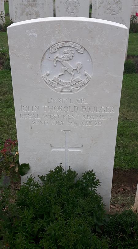 Profile picture for John Thorold Foulger
