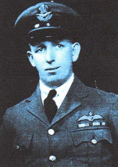 Frank Ridd in Pilot uniform
