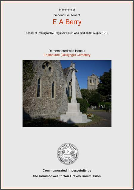 Eastbourne (Ocklynge) Cemetery