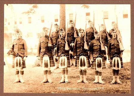 Private James Hartley and his Section