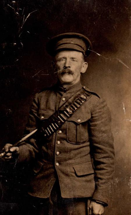 Private James Hartley's Father
