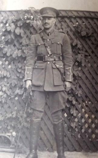 2 Lieut William George Douglas Watson 1914
