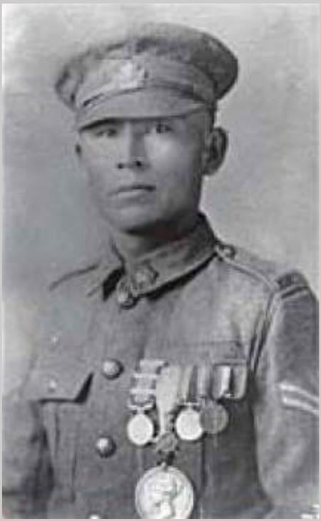 Profile picture for Francis Pegahmagabow