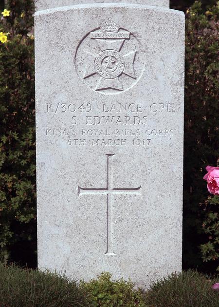Grave of Sydney Edwards