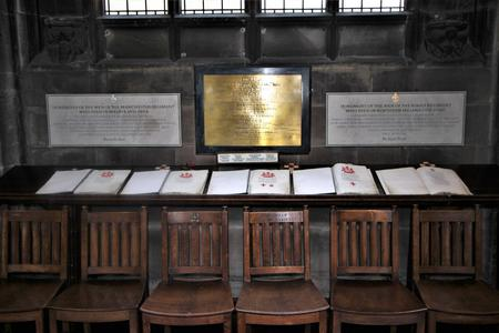 Manchester Cathedral Chapel.