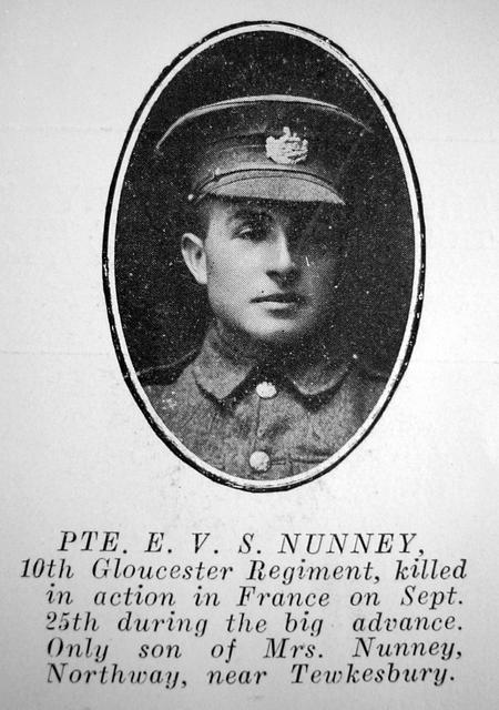 Profile picture for Ernest Victor Stephen Nunney