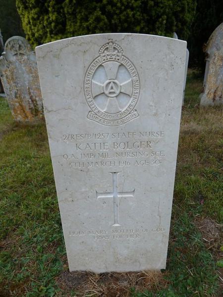 Grave at St John the Evangelist, Sutton Veny