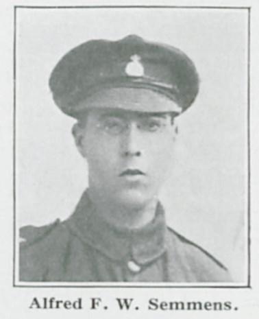 Profile picture for Albert Frederick William Semmens