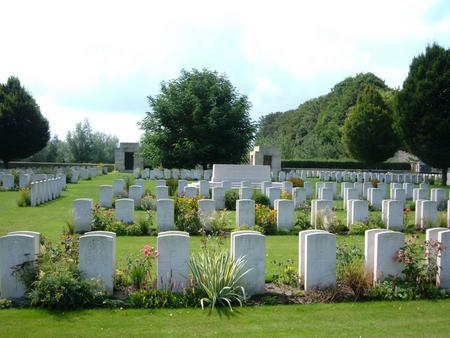 Tournai Communal Cemetery Allied Extension 4