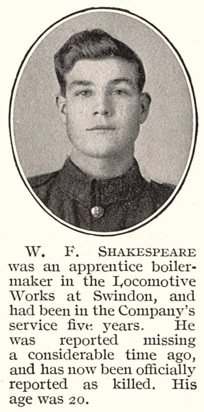 Profile picture for Walter Frank Shakespeare