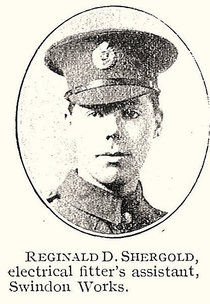 Profile picture for Reginald Donald Shergold