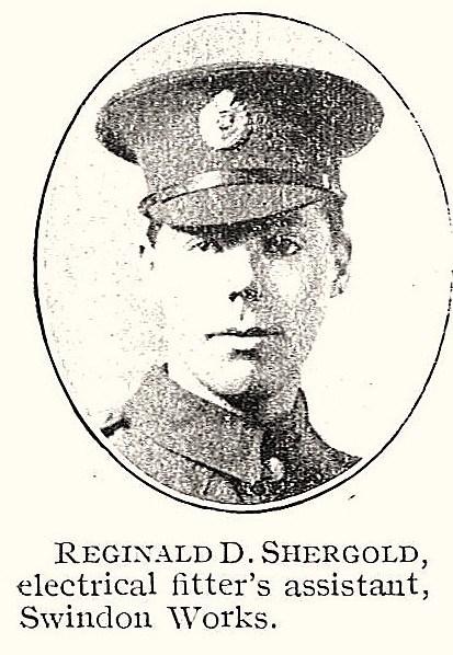 Profile picture for Reginald Donald Shergold