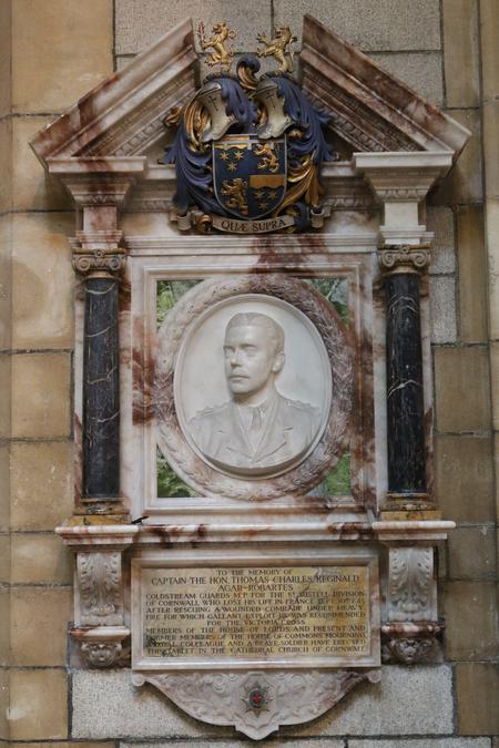 Memorial in Truro Cathedral