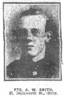 Profile picture for Alfred William Smith