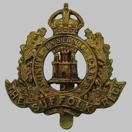 Suffolk Regiment WW1 Cap Badge
