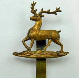 Hertfordshire Yeomanry WW1 Cap Badge