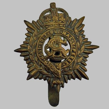 Army Service Corps WW1 Cap Badge