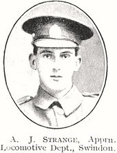 Profile picture for Augustus John Strange