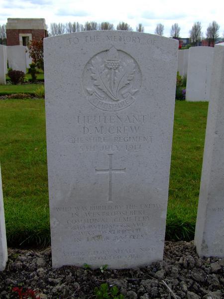 CWGC memorial stone