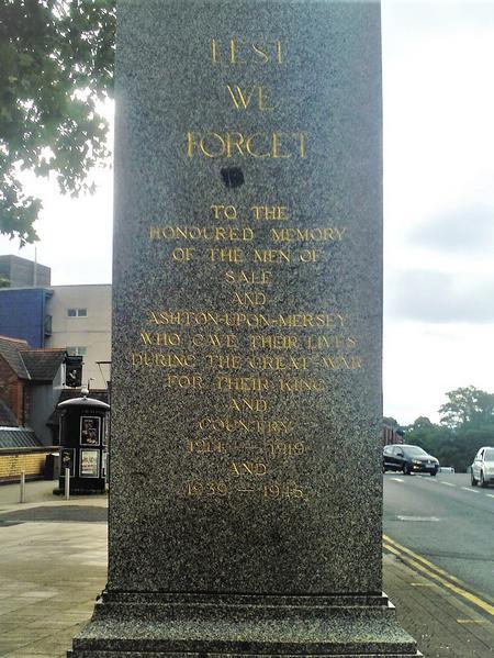 Sale Memorial.