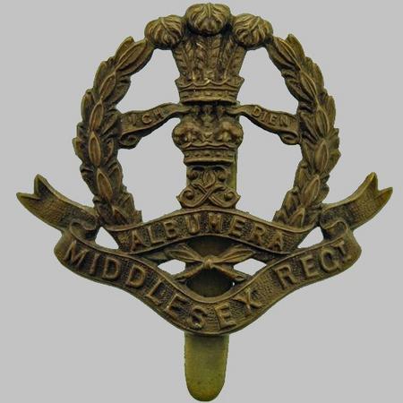 Middlesex Regiment WW1 Cap Badge