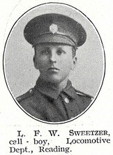 Profile picture for Louis Francis William Sweetzer