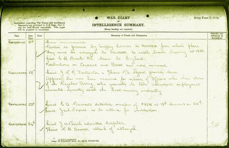 War Diaries of 19th Hussars